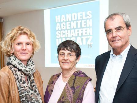 Prof. Amberger, Prof. Brenner, KoR Plaichinger